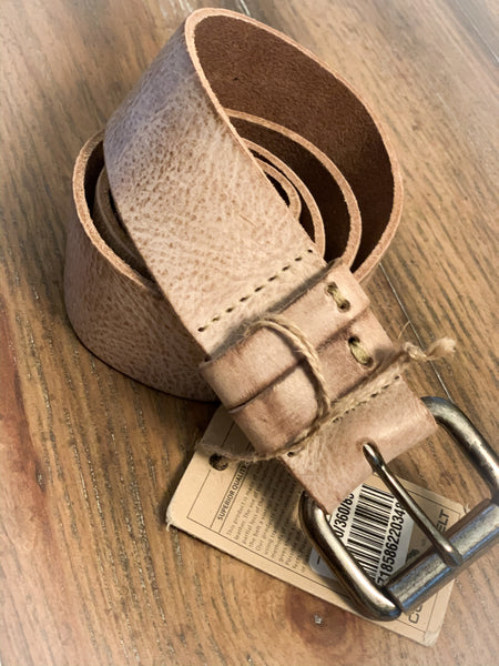 Sand Basic Thick Genuine Leather Belt