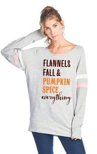 Flannels Fall & Pumpkin Spice Everything