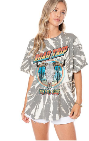 Road Trip Take Me Away Graphic Tee