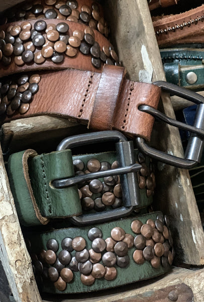 Hammered Stud Belt
