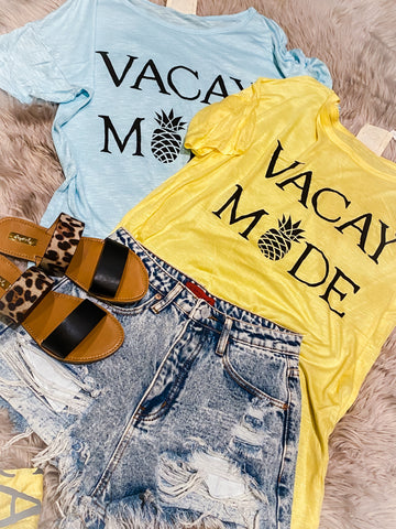 Vacay Mode Graphic Tee