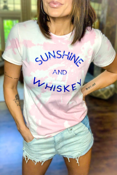 Sunshine & Whiskey Graphic Tee