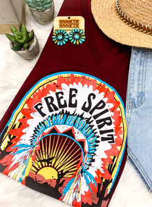 Free Spirit Wild Heart Graphic Tee