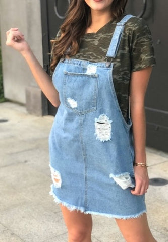 Weekend Adventure Skirt Overalls