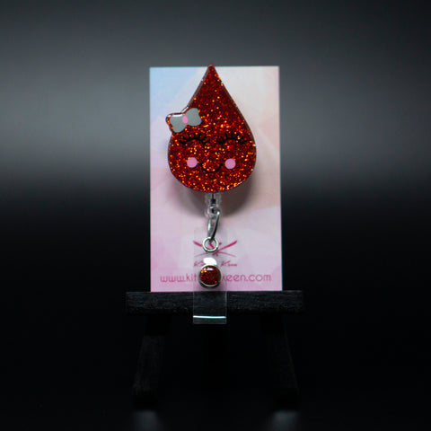 Blood Drop Badge Reel