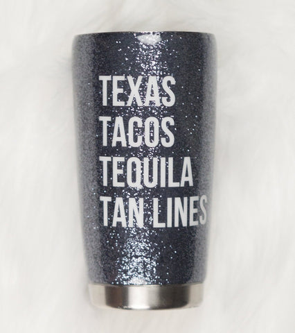 Texas Tacos Tequila Tan Lines