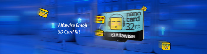 Alfawise Emoji SD Card Kit: The Most Practical Gift That Everyone Needs & Smiles At