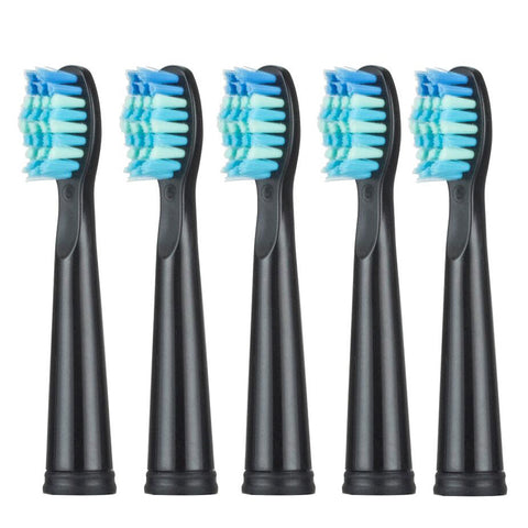 Alfawise Mini Replaceable Brush Head 5pcs - Black 5pcs
