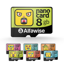 Alfawise Cartoon Face Memory Micro SD TF Card