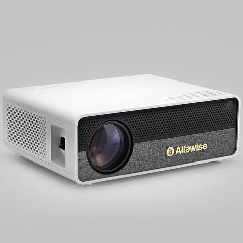 Alfawise Q9 BD1080P HD 4K Smart Home Projector
