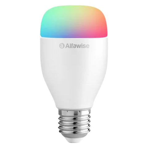 Alfawise LE12 E27 WiFi APP / Voice / Remote Control Smart LED Bulb - White