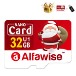 Alfawise Christmas Fun Edition Micro SD TF Card - Multi 128GB U3XC