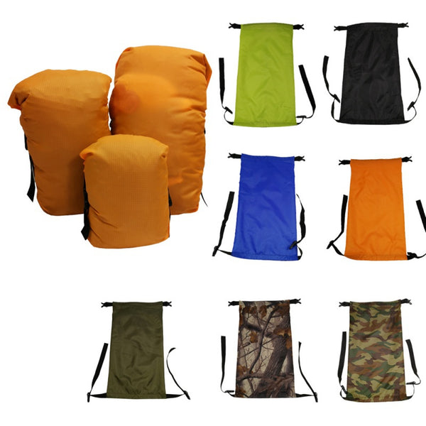 Outdoor Sleeping Bag Waterproof Clothes Packaging Compressed Saving Storage Bags Outdoor Camping Storage Carry Bag 5L 8L 11L