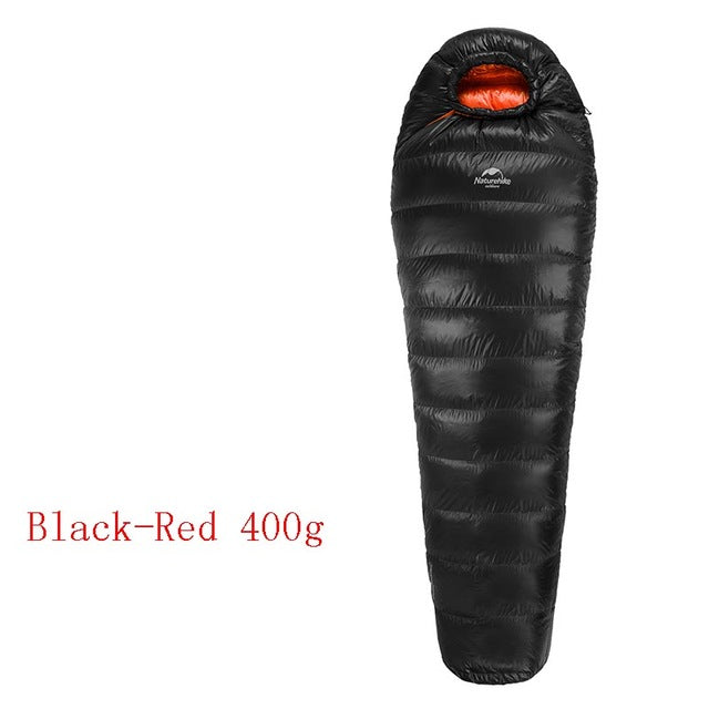 Mummy Duck Down Sleeping Bag For Hiking Camping Traveling NH15D800-K
