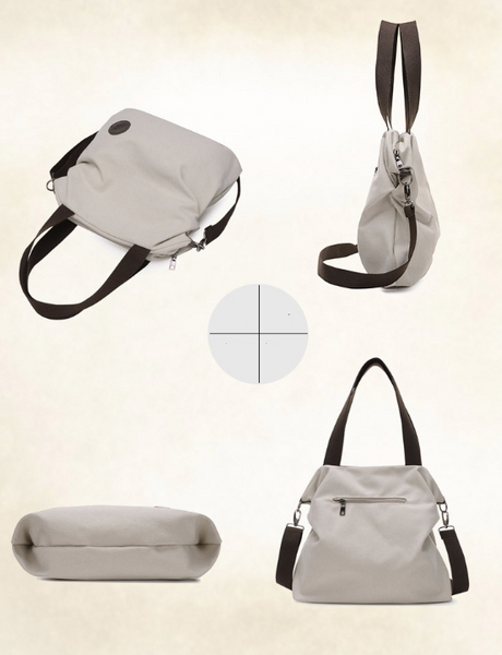 Matt's Expo Zipper Closure Canvas Tote Bag