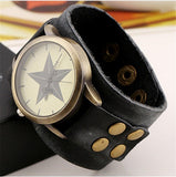 Women's Watch | Vintage Retro Genuine Leather Strap Wristwatch