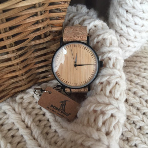 Women's Watch | Bamboo Dial Wooden Wristwatch