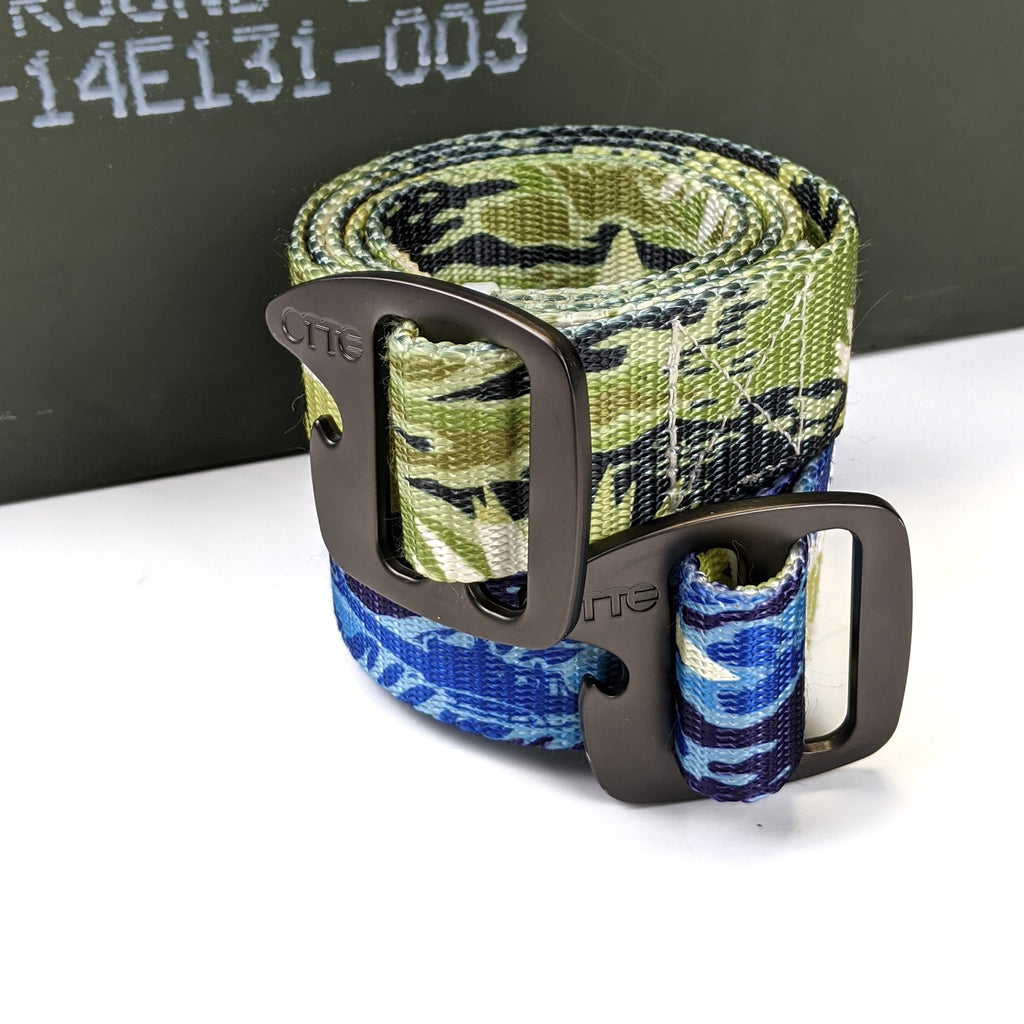 "Aloha Now Tiger Stripe 1.5"" Belt"