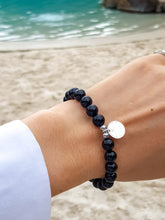 Load image into Gallery viewer, Black Onyx I Sterling Silver I Healing Bracelet