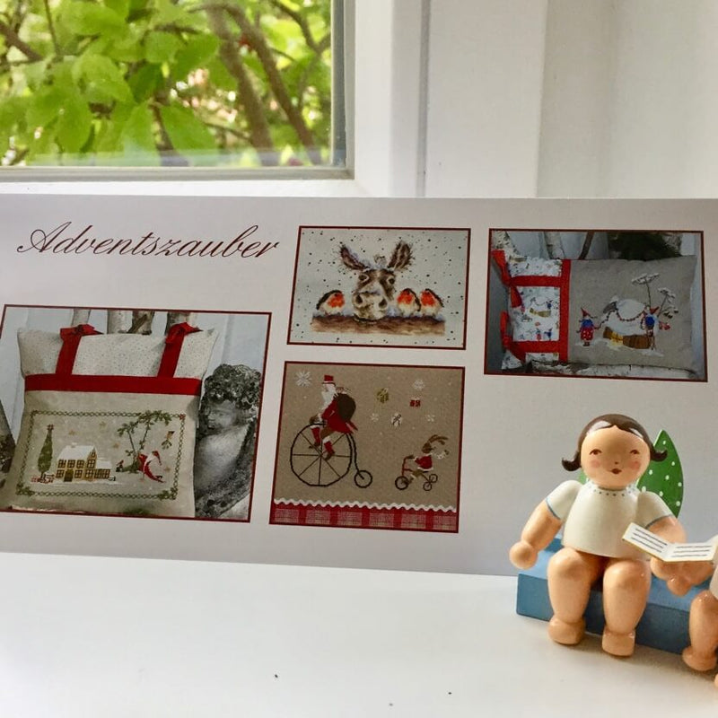Adventszauber in der Stickkunst