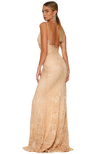Formal Lace Maxi Dress.