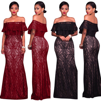 Formal Lace Gown