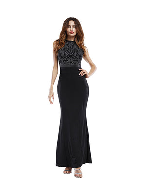 Bejewelled Maxi Dress