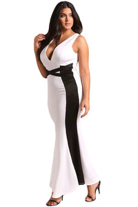 Black & White Gown