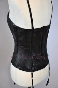 Corset Top w/Detachable Shoulder and Garter Straps