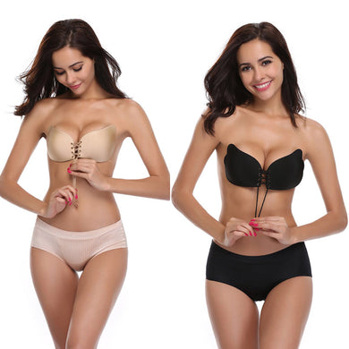 Strapless Push Up Invisible Bra