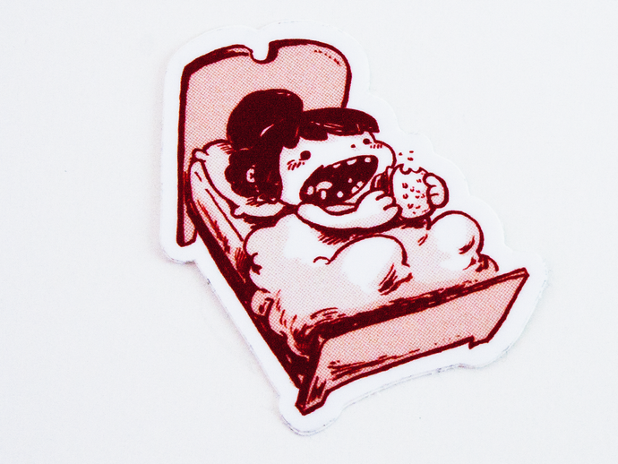 BEDTIME SNACK sticker