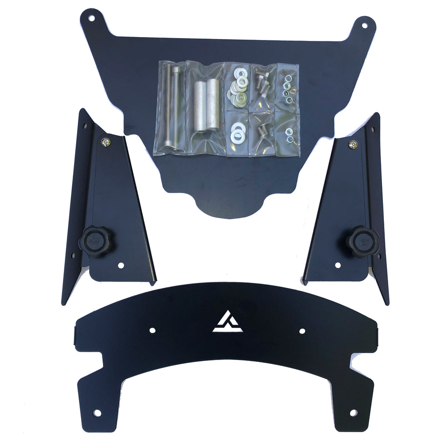 Adjustable Height Lifter for Windscreen, Rally Dash Kit.