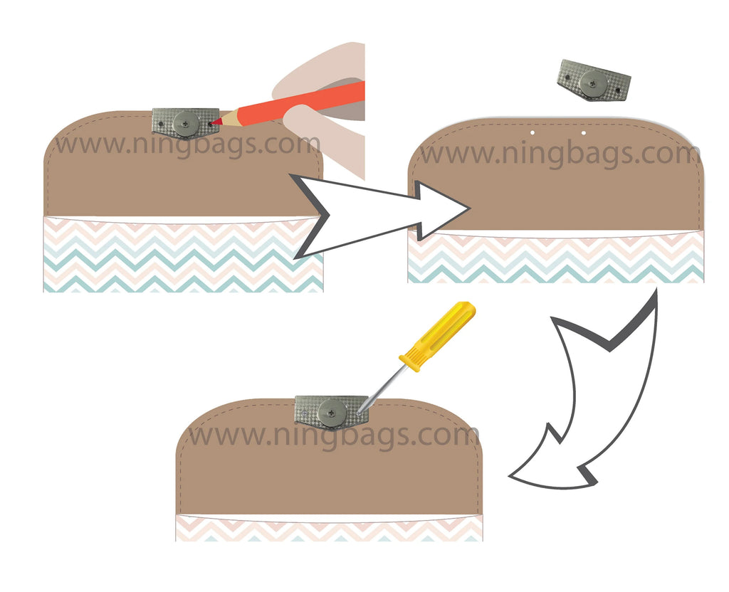 how to install magnetic edge clasp mc001