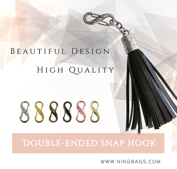 Double End snap Hook clasp for handbags
