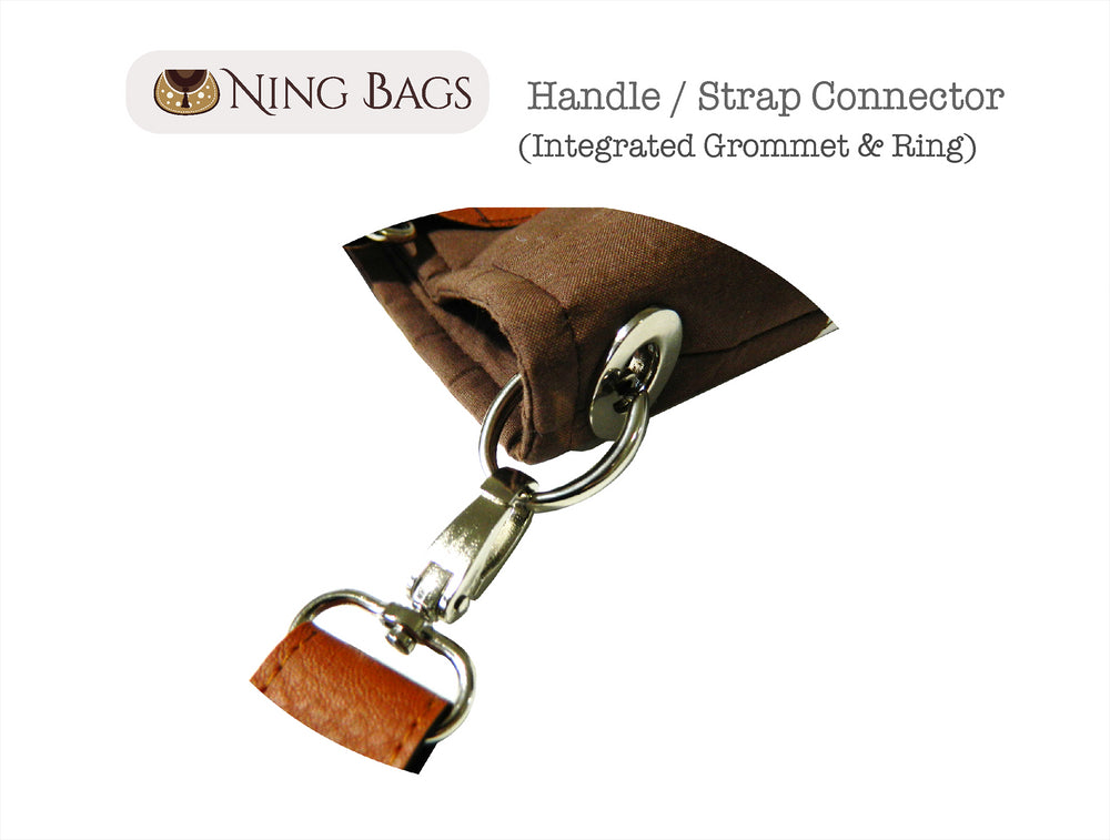 Integrated Grommet & Ring - Ning Bags