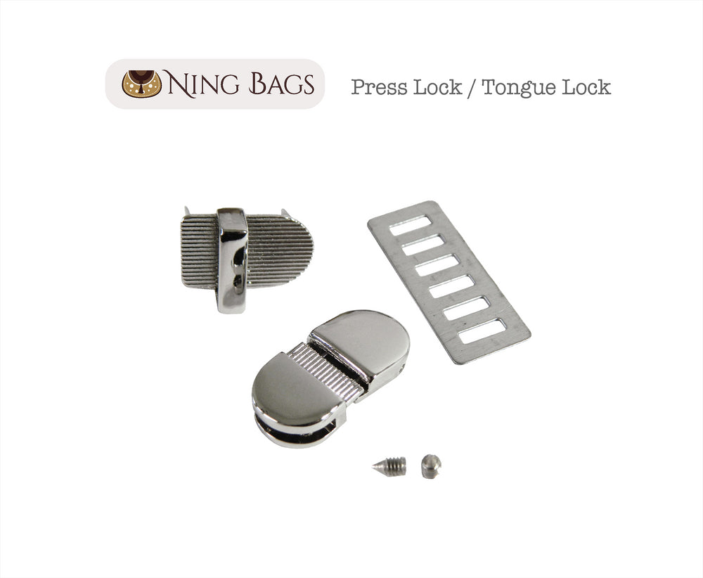 nickel press lock