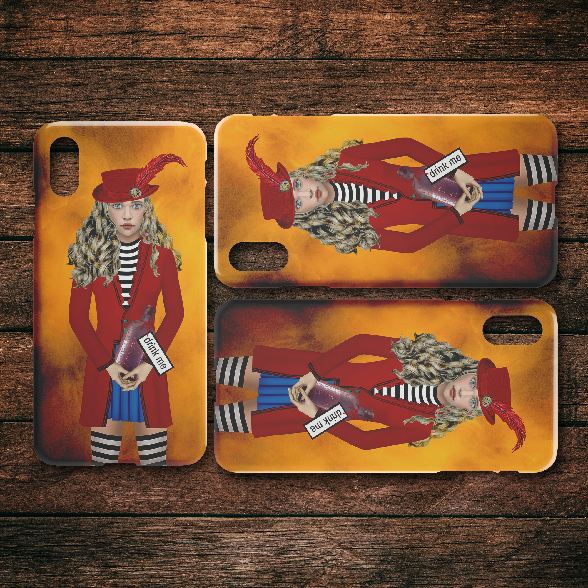 Alice 1 - iPhone case