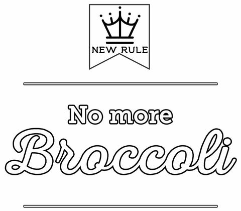No More Broccoli - Premium Toddler T-Shirt