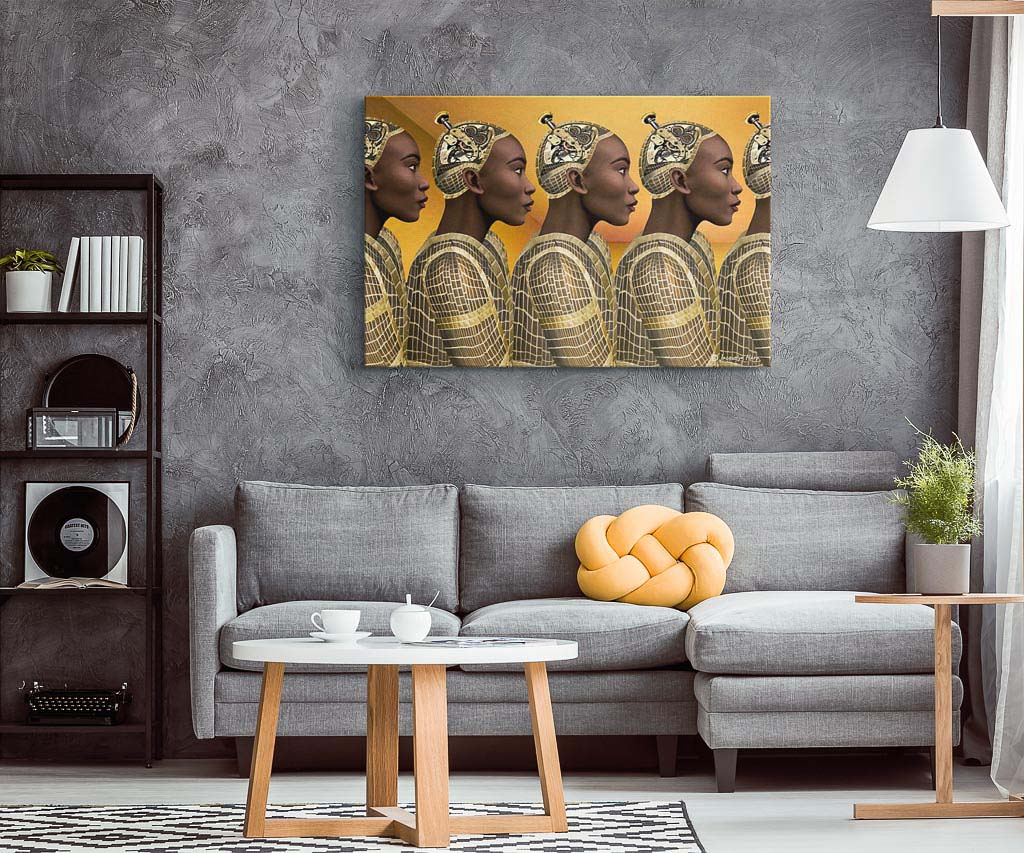 Duplication - Canvas Art Print
