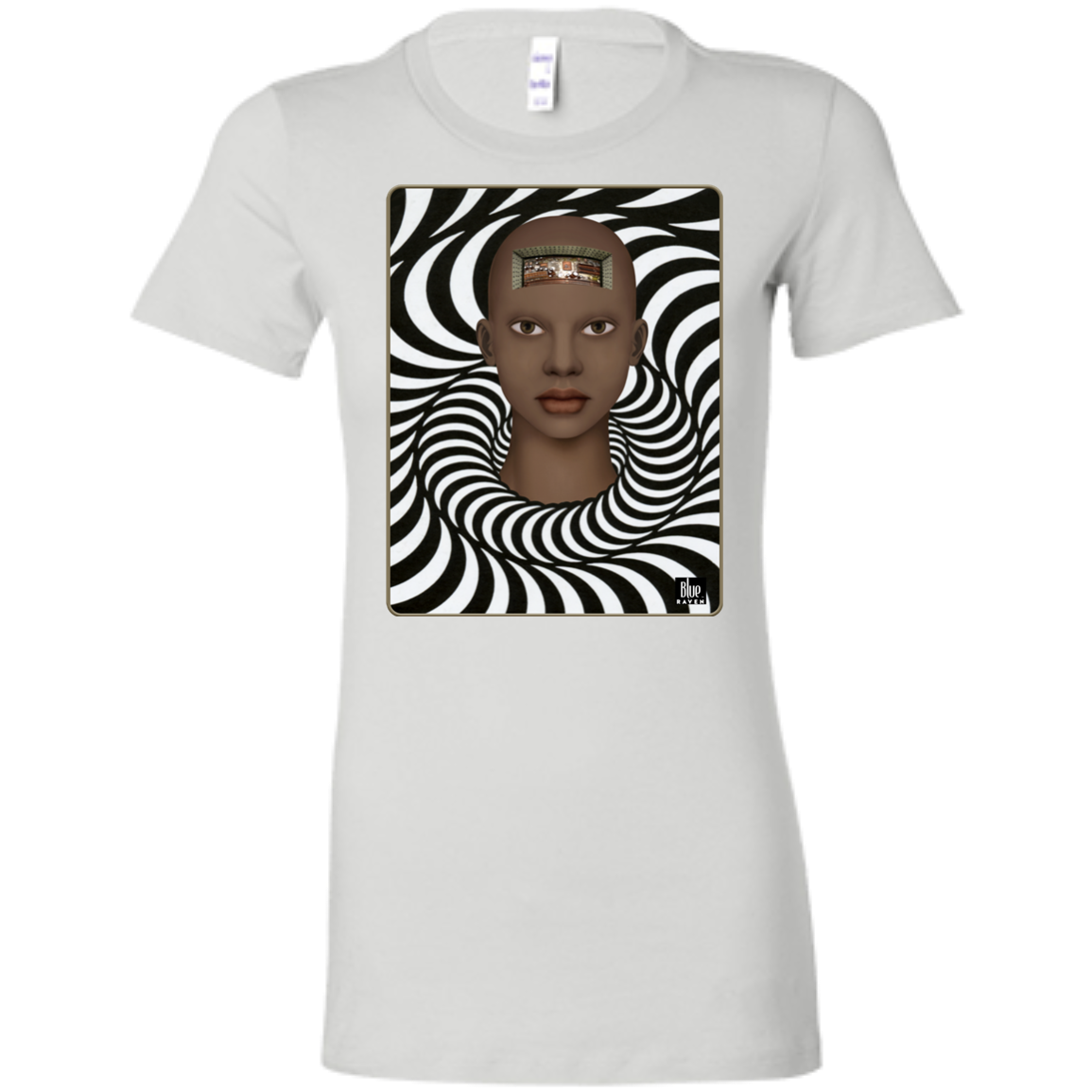 COMPUTERIZED 4 - Women's Fitted T-Shirt