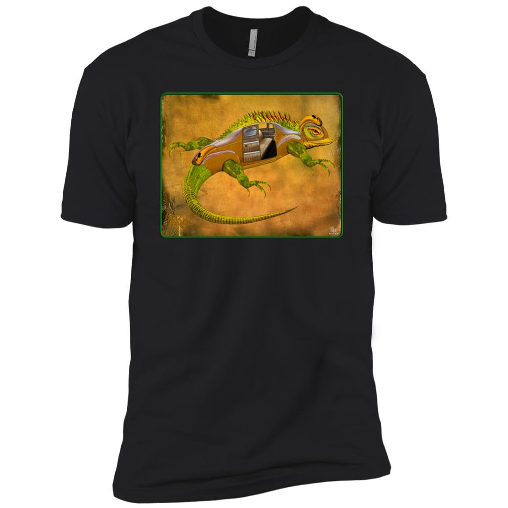 Uber Lizard - green - Boy's Premium T-Shirt