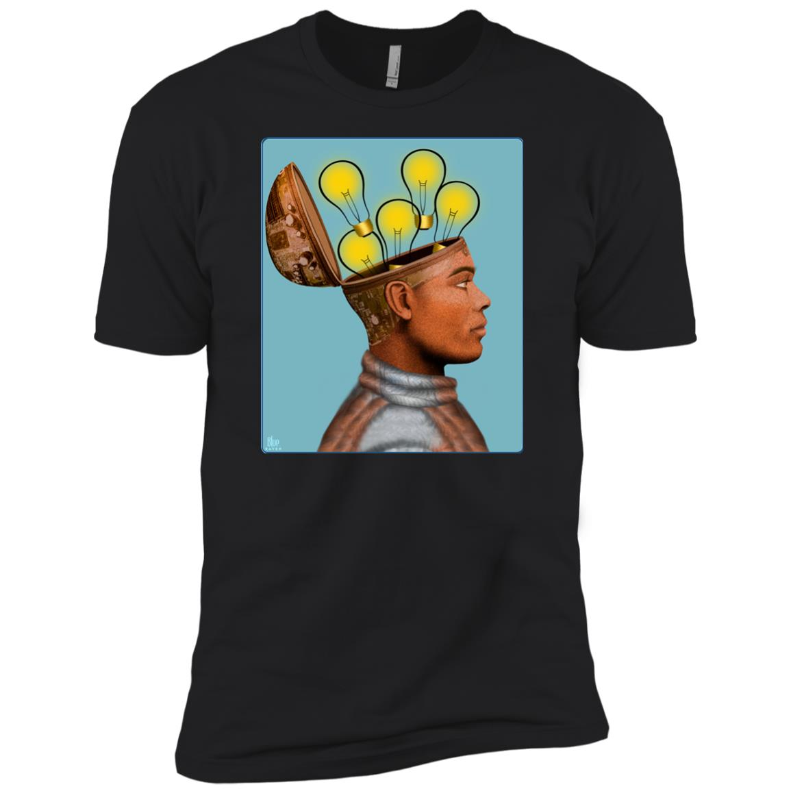 Future Humans - Men's Premium Fitted T-Shirt