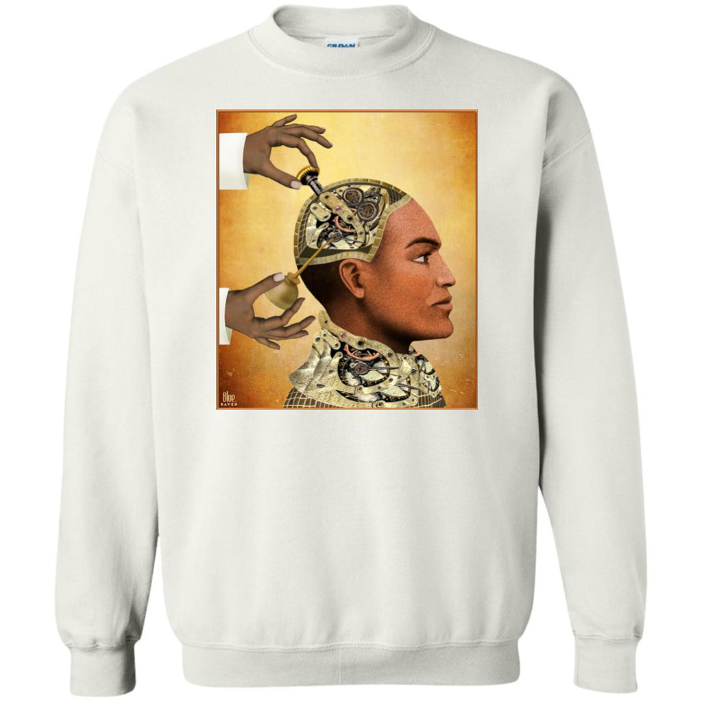 Repairs - Grunge - Men's Crew Neck Sweatshirt