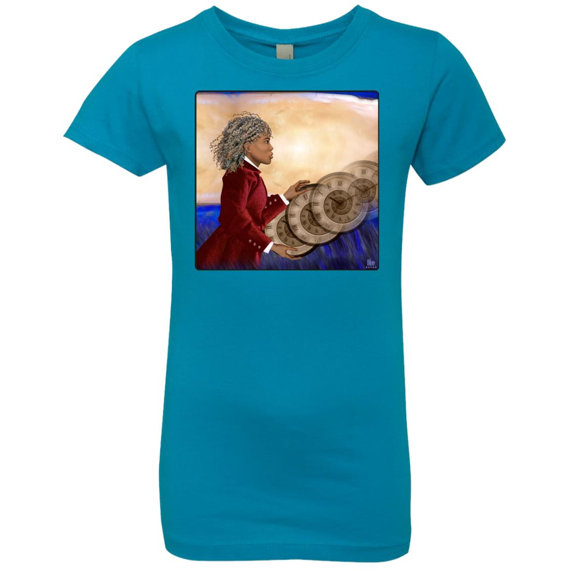 RUSHING TIME - Girl's Premium Cotton T-Shirt