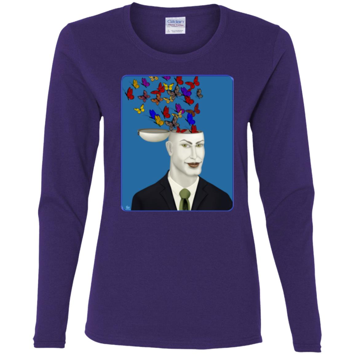 Let Creativity Fly - Women's Long Sleeve Tee