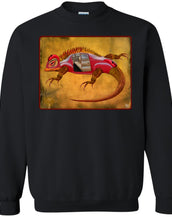 Uber Lizard - red - Men's Crew Neck Sweatshirt