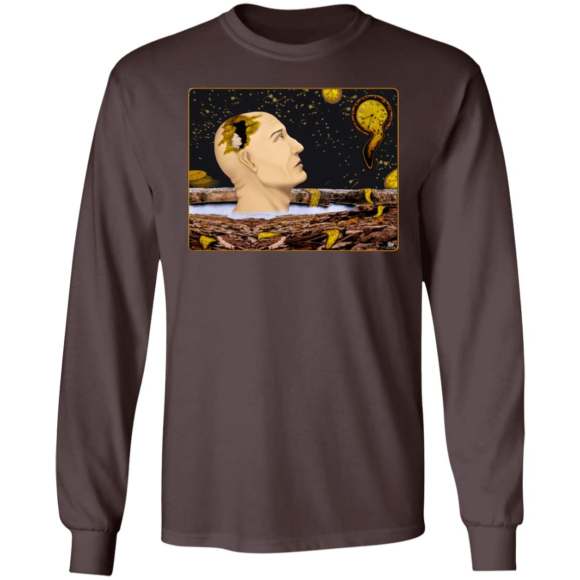 Earth Time Running Out – Men's Long Sleeve T-Shirt