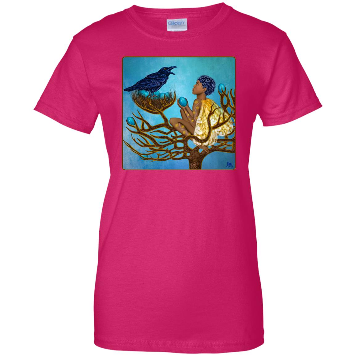 The blue raven's friend - Women's Relaxed Fit T-Shirt