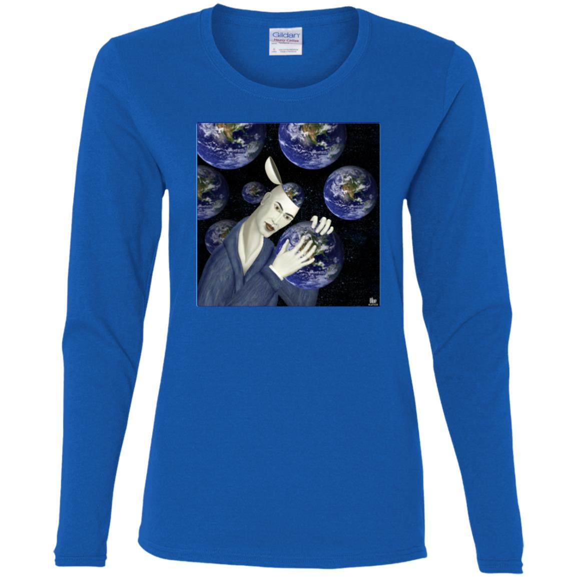 Wonderful World - Women's Long Sleeve Tee