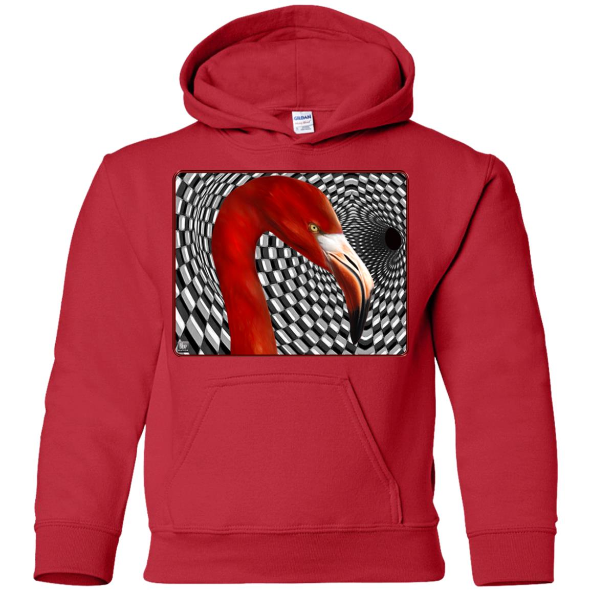 the flamingo - Youth Hoodie